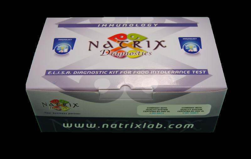 confezione kit intolleranze alimentari elisa igg