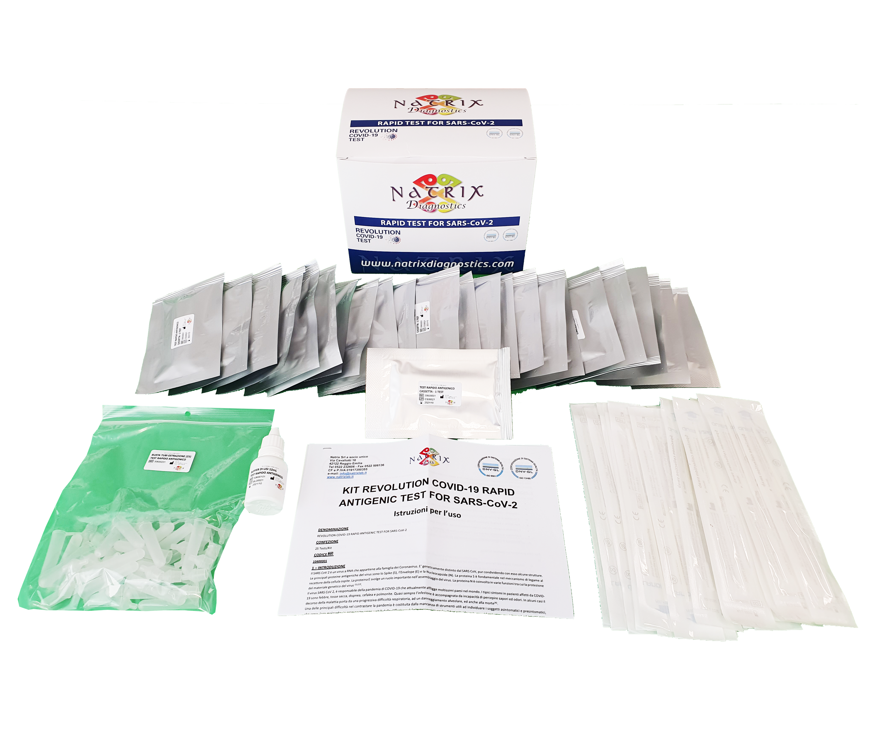 image components rapid antigenic test for sars-cov-2